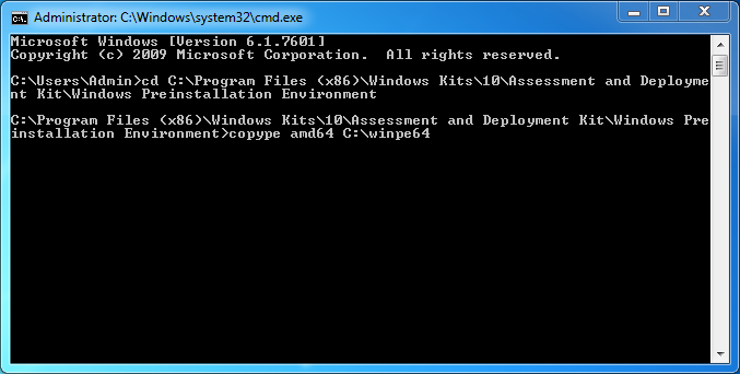 Sysprep a Surface Pro 4 and create the WIM image - root SX